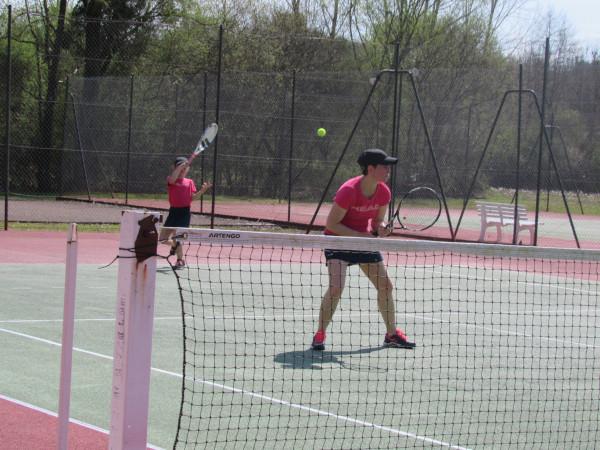 Le tennis en double